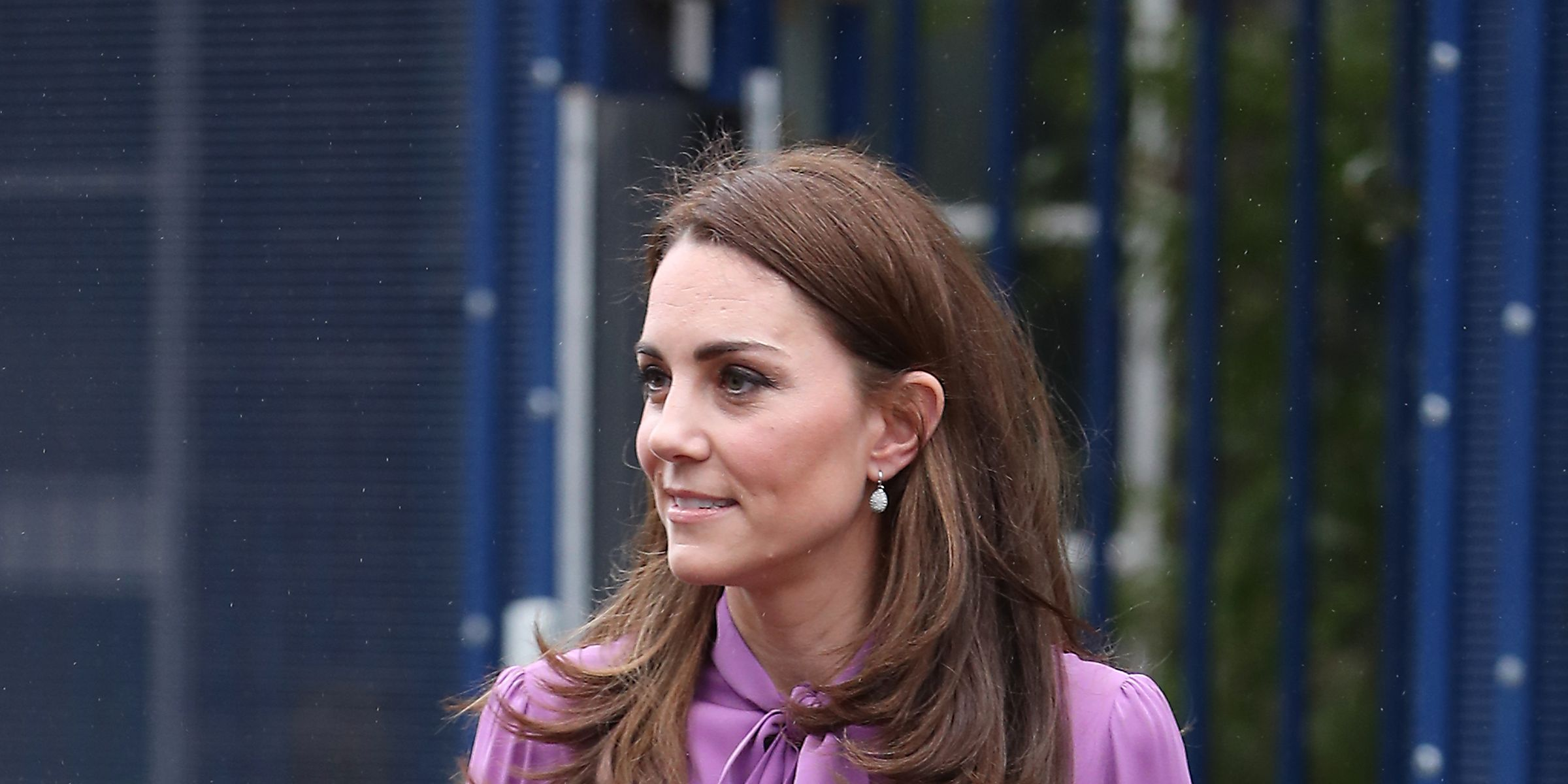 Duchess Of Cambridge Visits The Henry Fawcett Children's Centre