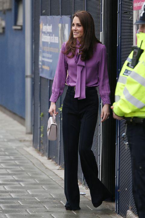 Duchess Of Cambridge Visits The Henry Fawcett Children's Centre