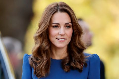 Kate Middleton blue dress The Duchess Of Cambridge Visits The Imperial War Museum