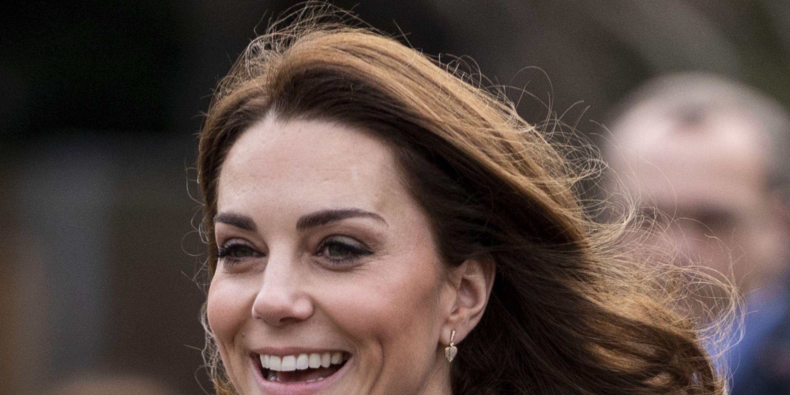 The Duchess Of Cambridge Visits Islington Community Garden