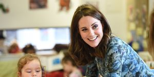 The Duchess Of Cambridge Visits Reach Academy Feltham With Place2Be