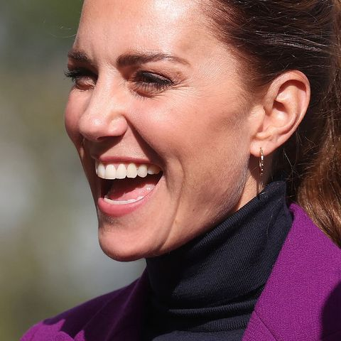 duchess of cambridge football skills northern ireland