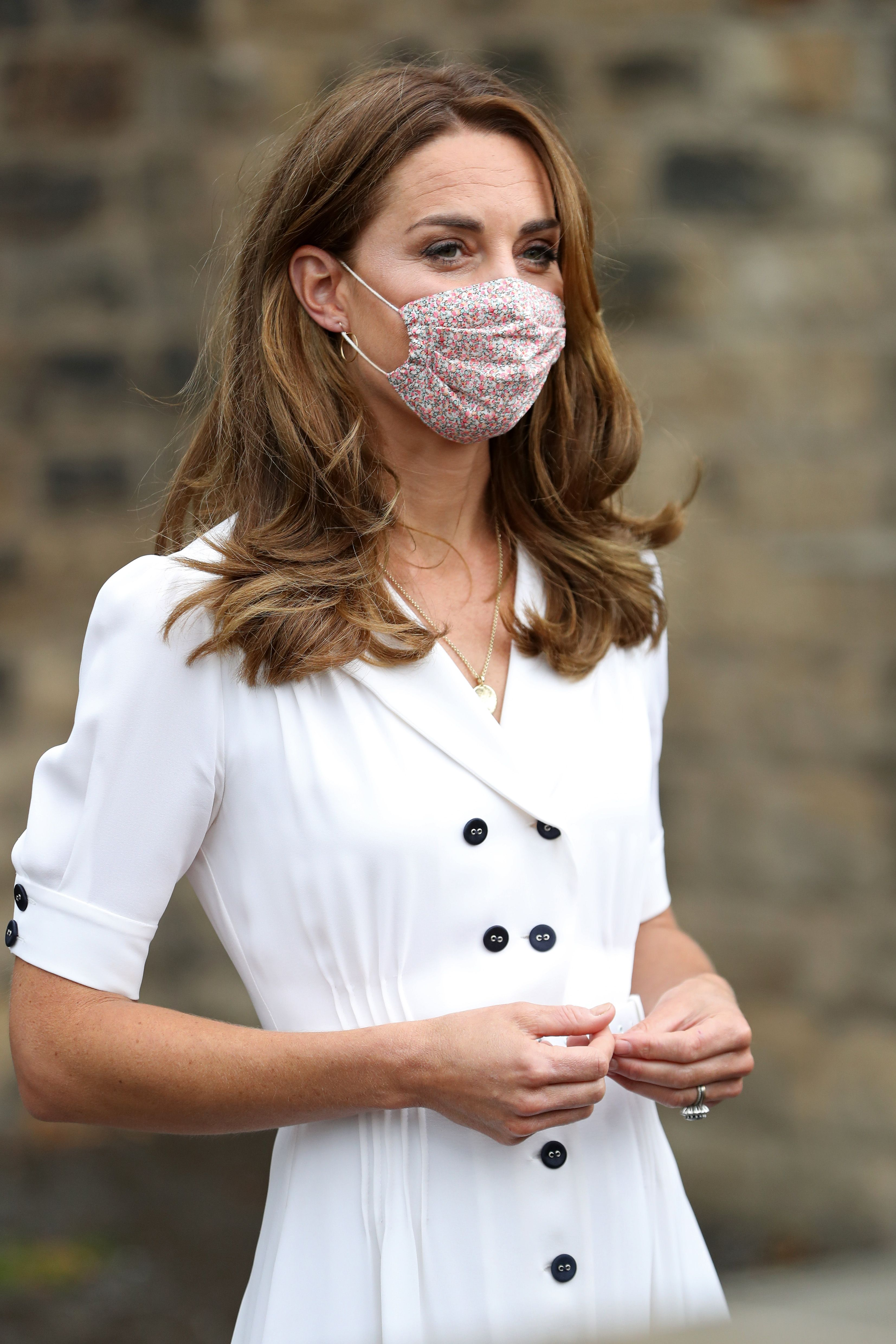 Kate Middleton Wore a Face Mask in Public for the First Time, and It Only Costs $20