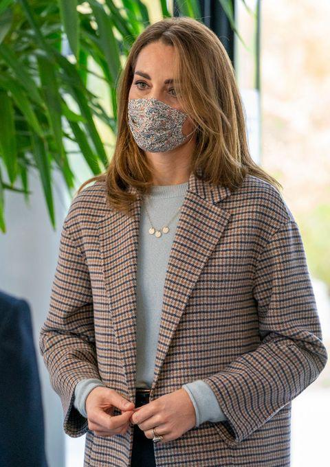キャサリン妃 マスク ファッション