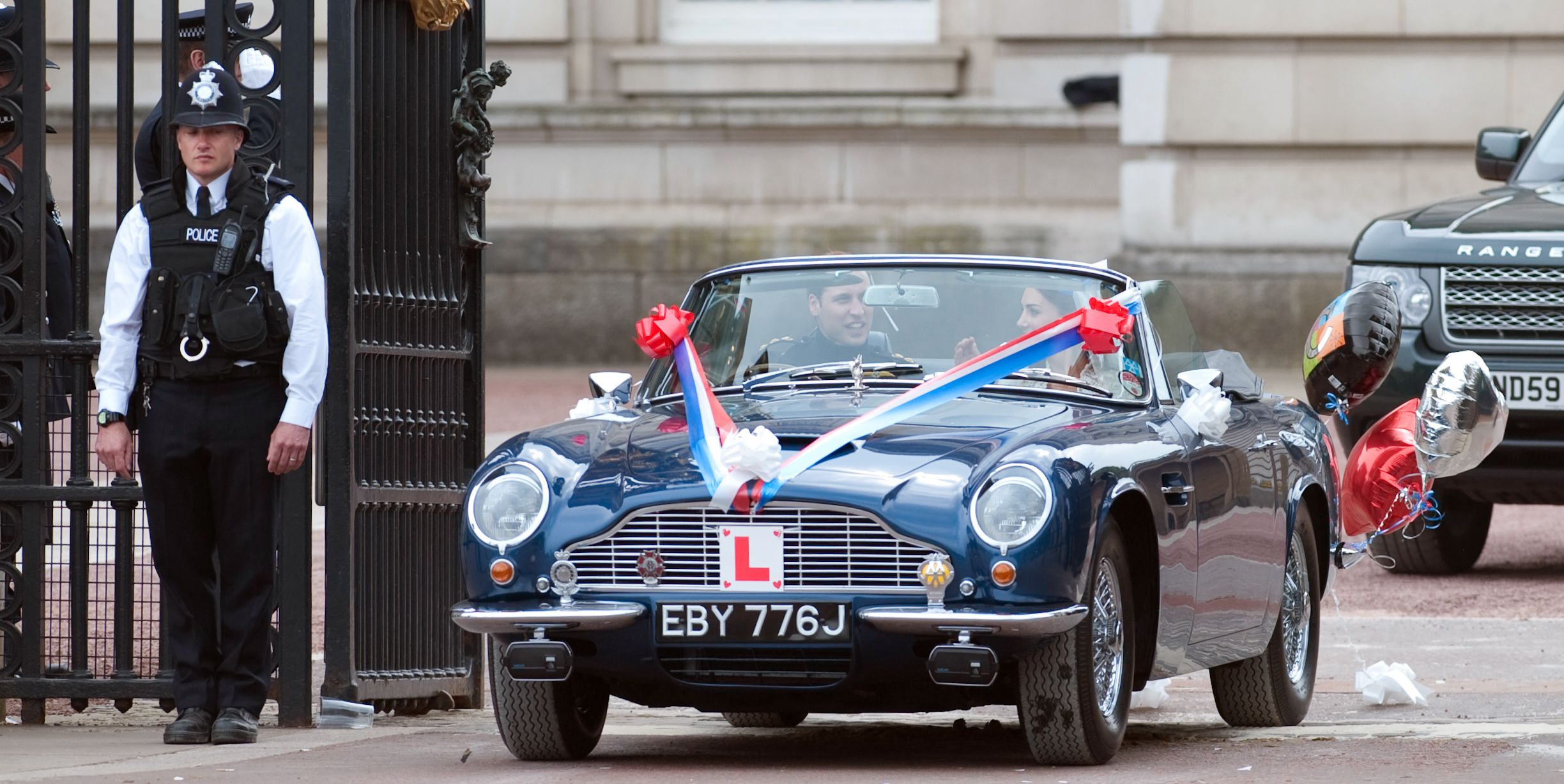 Princess Eugenie S Wedding Car Was The Aston Martin Db10 From The