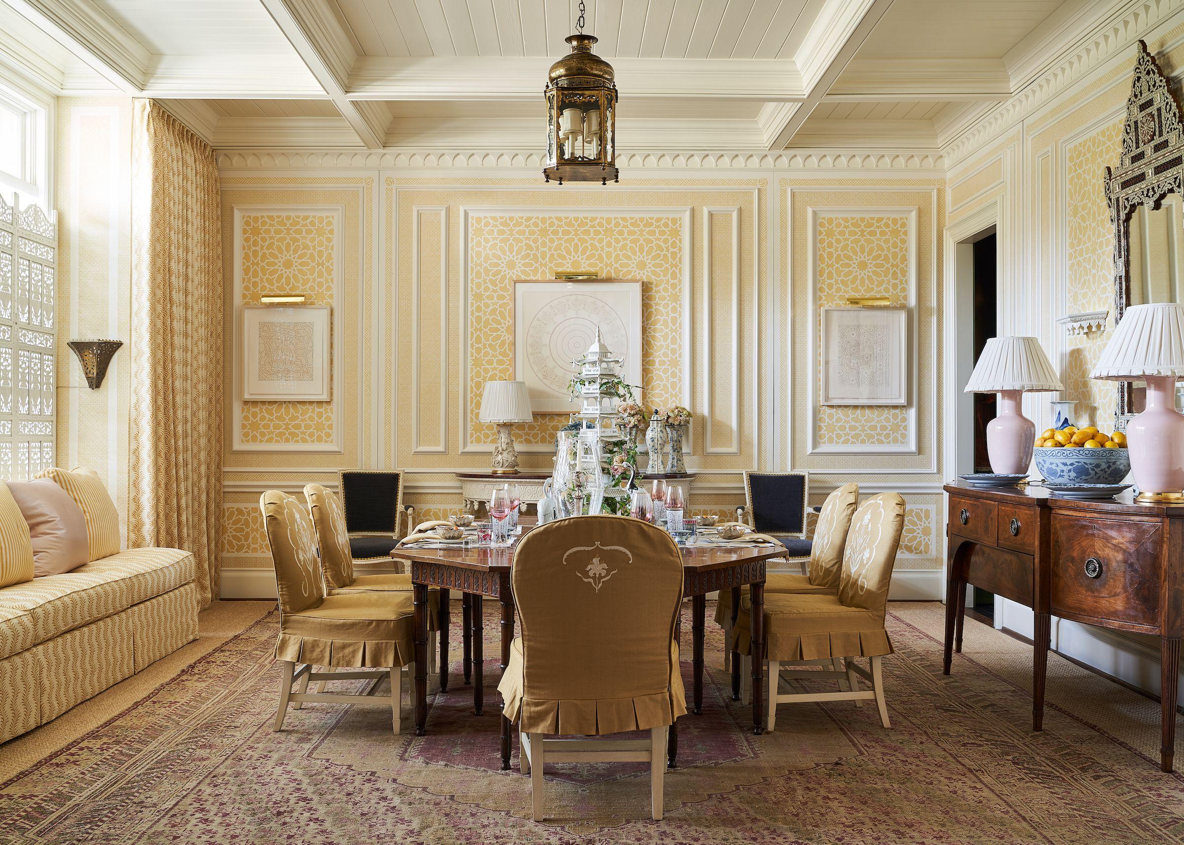 50 Best Dining Room Ideas Designer, Gold Dining Room Ideas