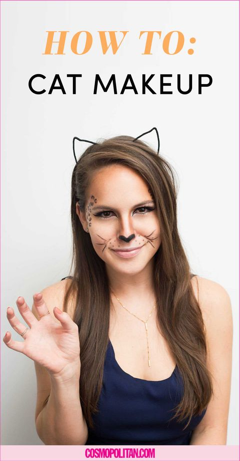 How to Create a Halloween Cat Look With Makeup You Already Have