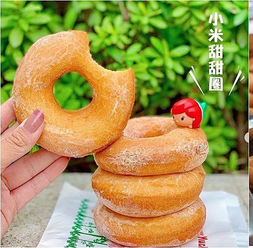 小米甜甜圈,甜甜圈,甜點,小吃,Q彈,排隊