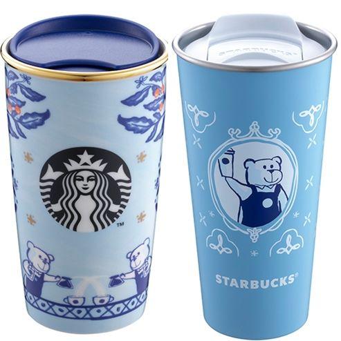 星巴克推出青花瓷風格商品 大推37款限定周邊 小熊馬克杯 琺瑯杯超摩登
