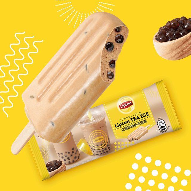 立頓跨界與杜老爺首度合作推出台灣限定版「珍珠奶茶雪糕」以及「水果雙q紅茶冰棒」兩種限量新冰品