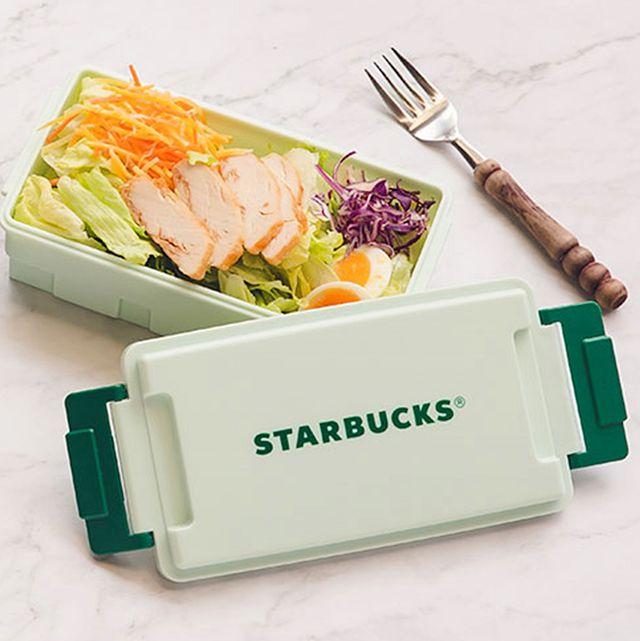 星巴克線上門市於7月17日推出限定新品,響應環保趨勢,此次推出木紋餐盒及薄荷綠餐盒,