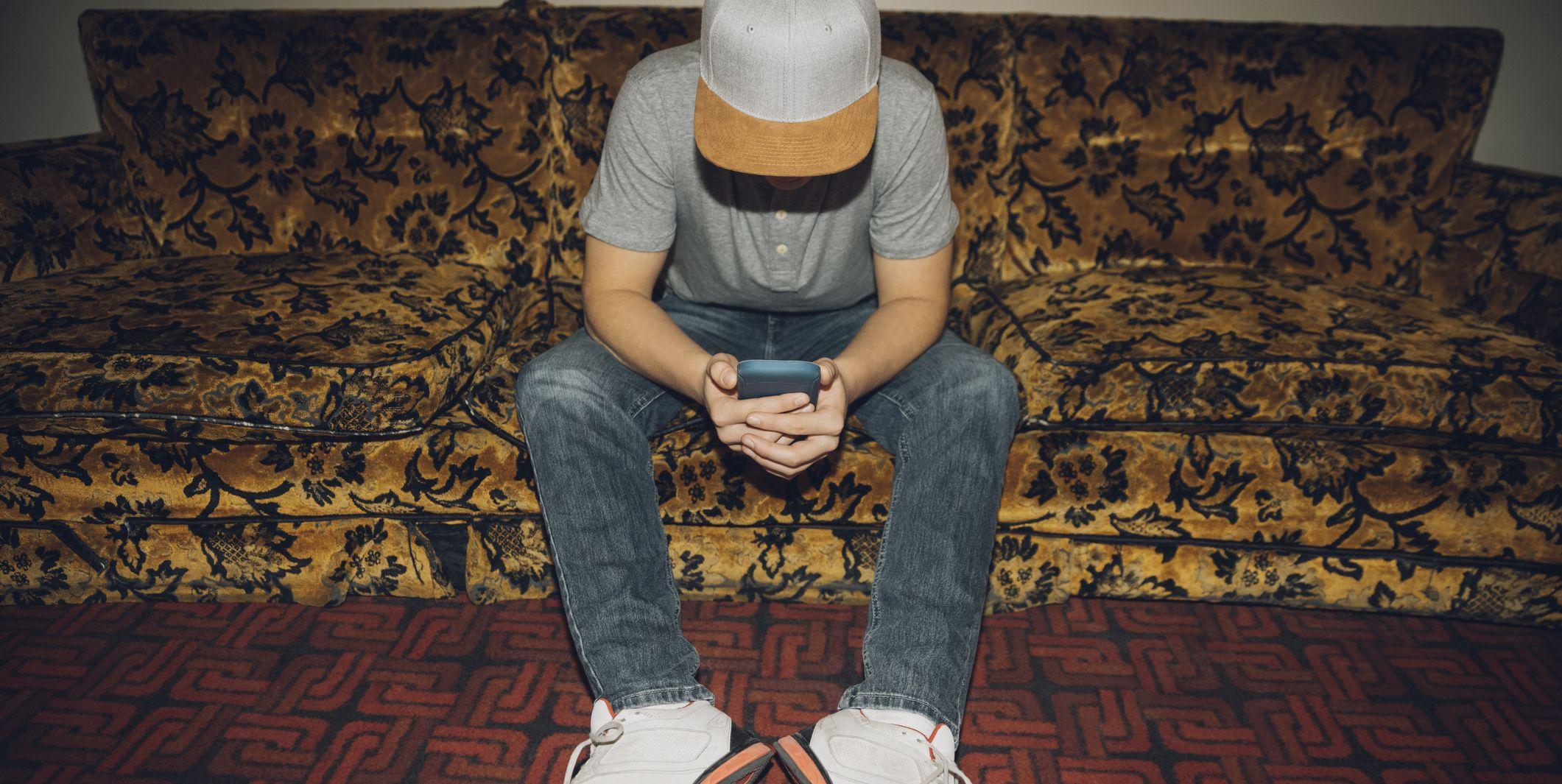 smartphone, jongeren, slaap