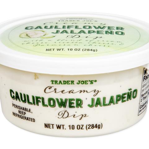 cauliflower jalapeno dip