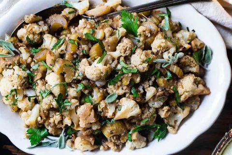 23 diabetes friendly thanksgiving recipes how to cook for a diabetic cauliflower low carb paleo vegan stuffing food faith fitness forumfinder Image collections
