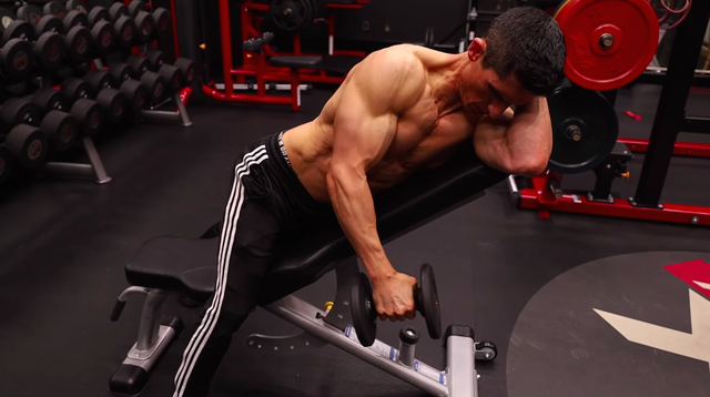 jeff cavaliere, athlean x, incline lateral side raise