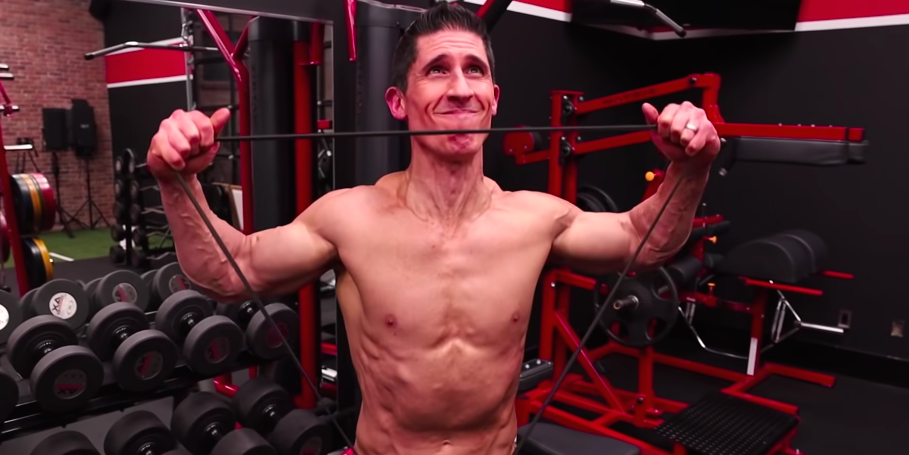 Build Your Shoulders Using Just a Resistance Band