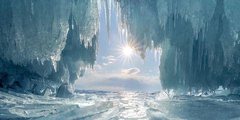 Liquid, Ice, Fluid, Freezing, Ice cap, Sea ice, Atmospheric phenomenon, Glacial landform, Ocean, World,