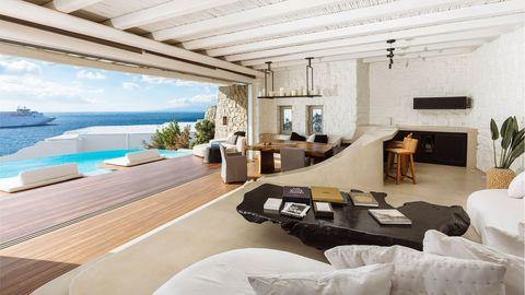 El hotel favorito de Izabel Goulart en sus vacaciones en Mykonos