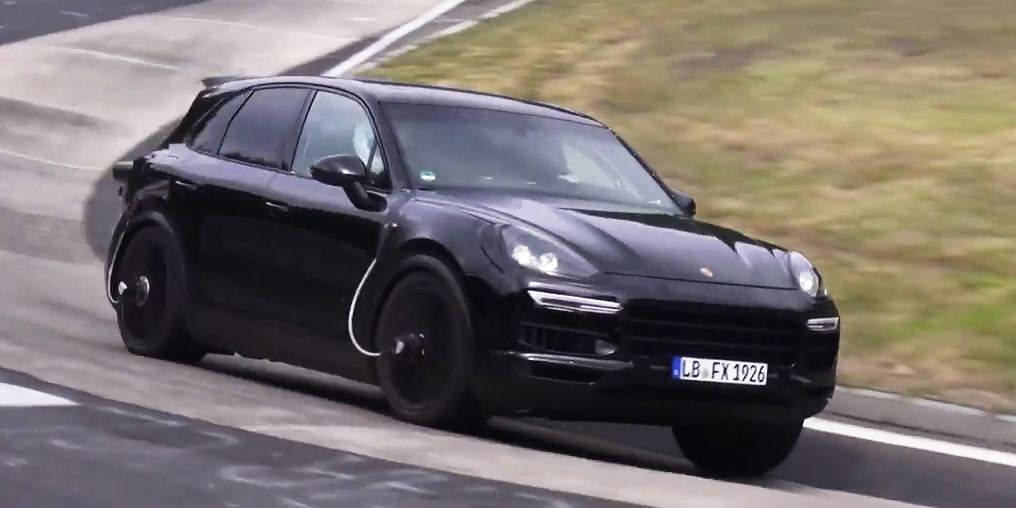 It Sounds Like the Next,Gen Porsche Cayenne Will Get V8 Power