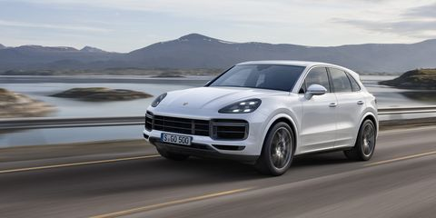 New Porsche Cayenne Turbo 2019