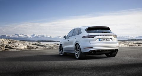 Porsche The New Cayenne Turbo