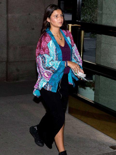 Cayetana Rivera reaparición