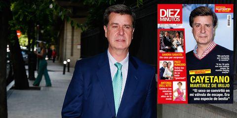 Cayetano Martínez de Irujo portada polémica biografía