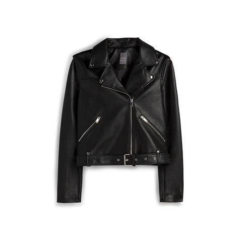 Jacket, Coat, Collar, Sleeve, Textile, Outerwear, White, Style, Fashion, Leather,