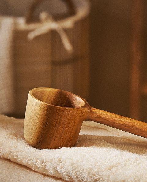 cazo de madera para bañera o para su uso en saunas