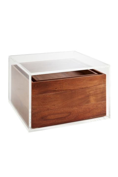Rectangle, Table, Wood, Brown, Furniture, Box, Bathroom accessory, Hardwood, Plywood, Soap dish,