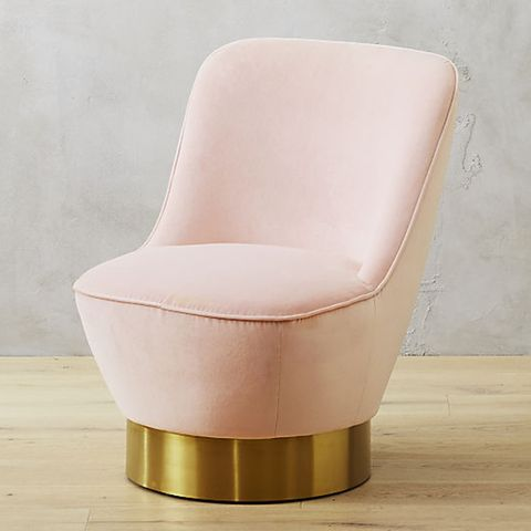 CB2 Simone Blush Chair