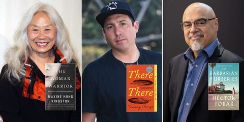 maxine hong kingston, woman warrior, tommy orange, there there, hector tobar, barbarian nurseries