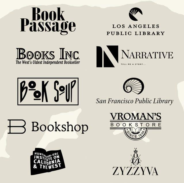 california book club partner logos
