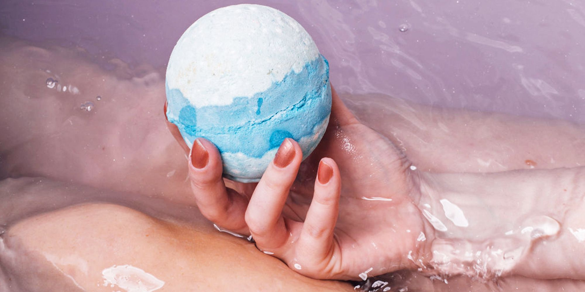 This Cbd Bath Bomb Is Going Viral For Curing Muscle Aches And Pains