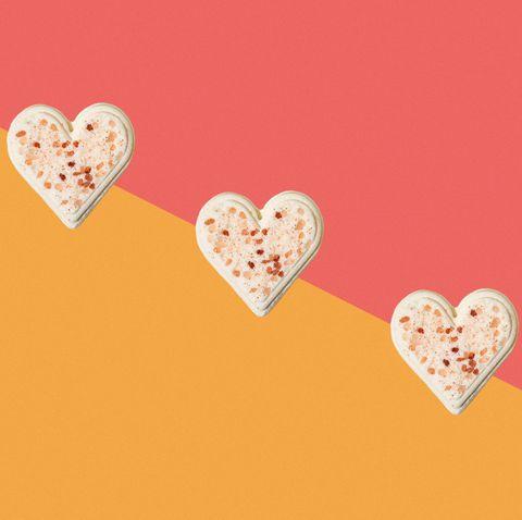 Heart, Valentine's day, Love, Pink, Heart, Font, Peach, Illustration,