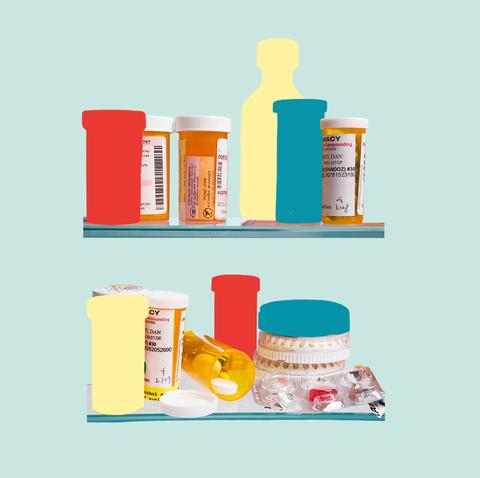 Shelf, Product, Shelving, Plastic bottle, Science, Chemistry, Liquid, Cylinder,