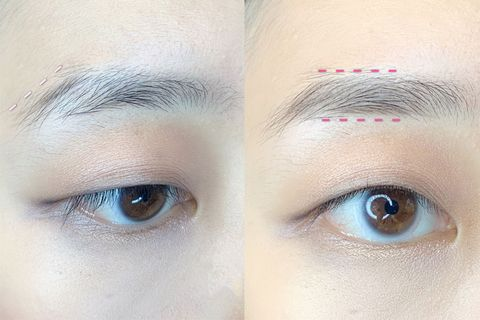 Eyebrow, Face, Forehead, Eye, Eyelash, Skin, Head, Cheek, Close-up, Organ,