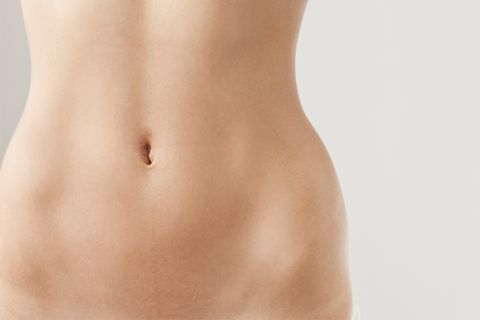 Abdomen, Skin, Stomach, Navel, Trunk, Waist, Close-up, Organ, Joint, Human body,