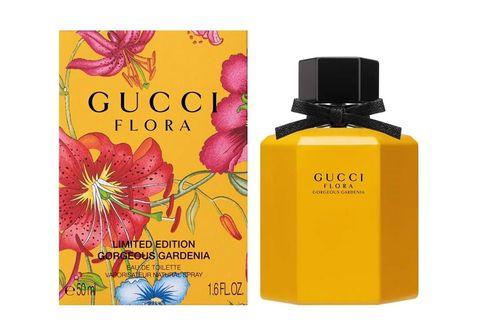Gucci,花之舞女性淡香水,黃色梔子花華,麗梔子花女性淡香水彩豔限量版,香氛,香水