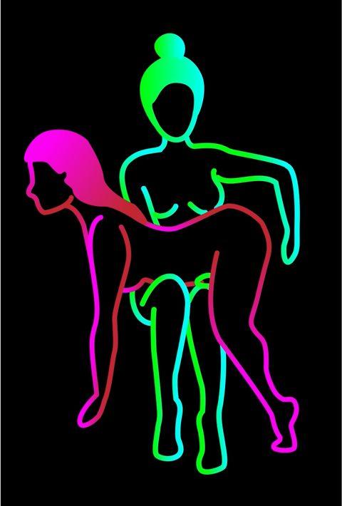 Green, Neon, Organ, Graphic design, Organism, Magenta, Line art, Fictional character,