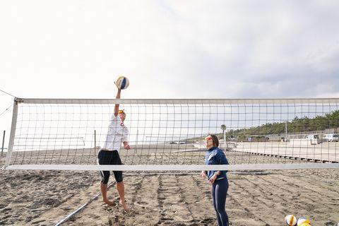 Volleyball net, Volleyball, Net, Net sports, Beach volleyball, Volleyball, Sports, Team sport, Ball game, Beach,