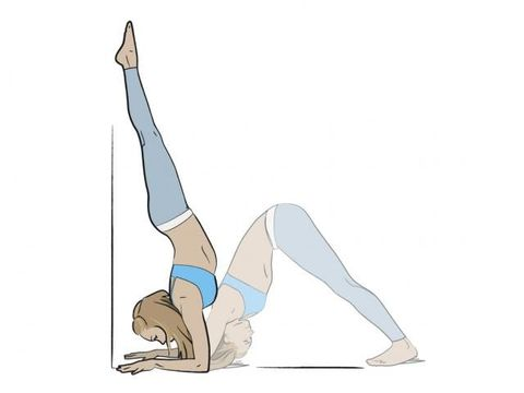 Leg, Arm, Stretching, Balance, Physical fitness, Flip (acrobatic), Joint, Artistic gymnastics, Elbow, Knee,
