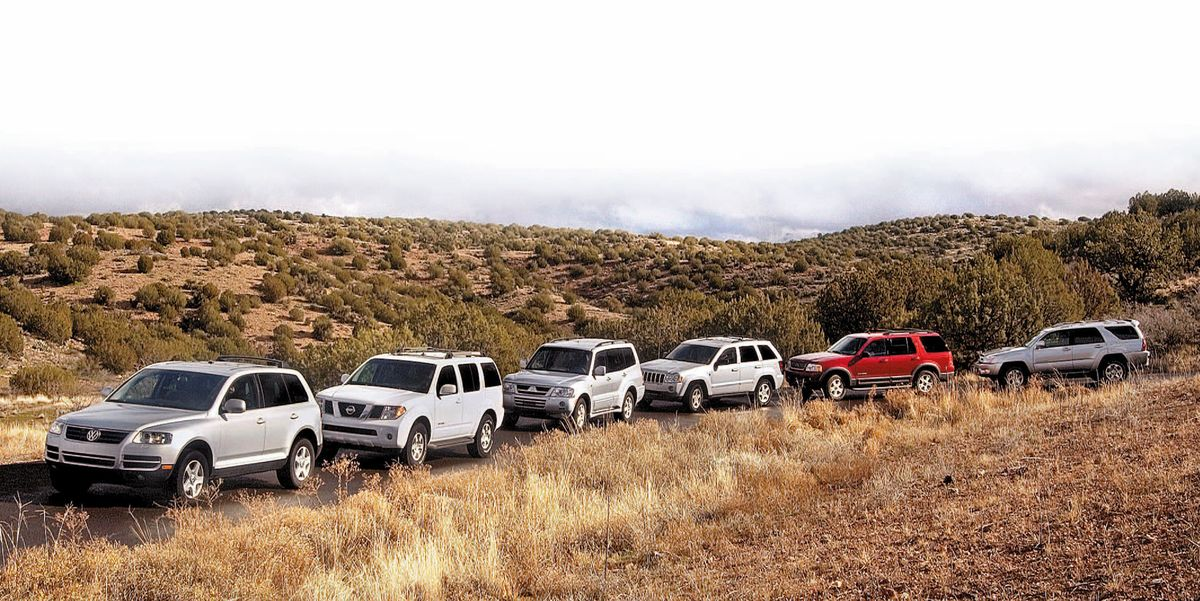 Tested: 2005 Off-Road SUV Comparo