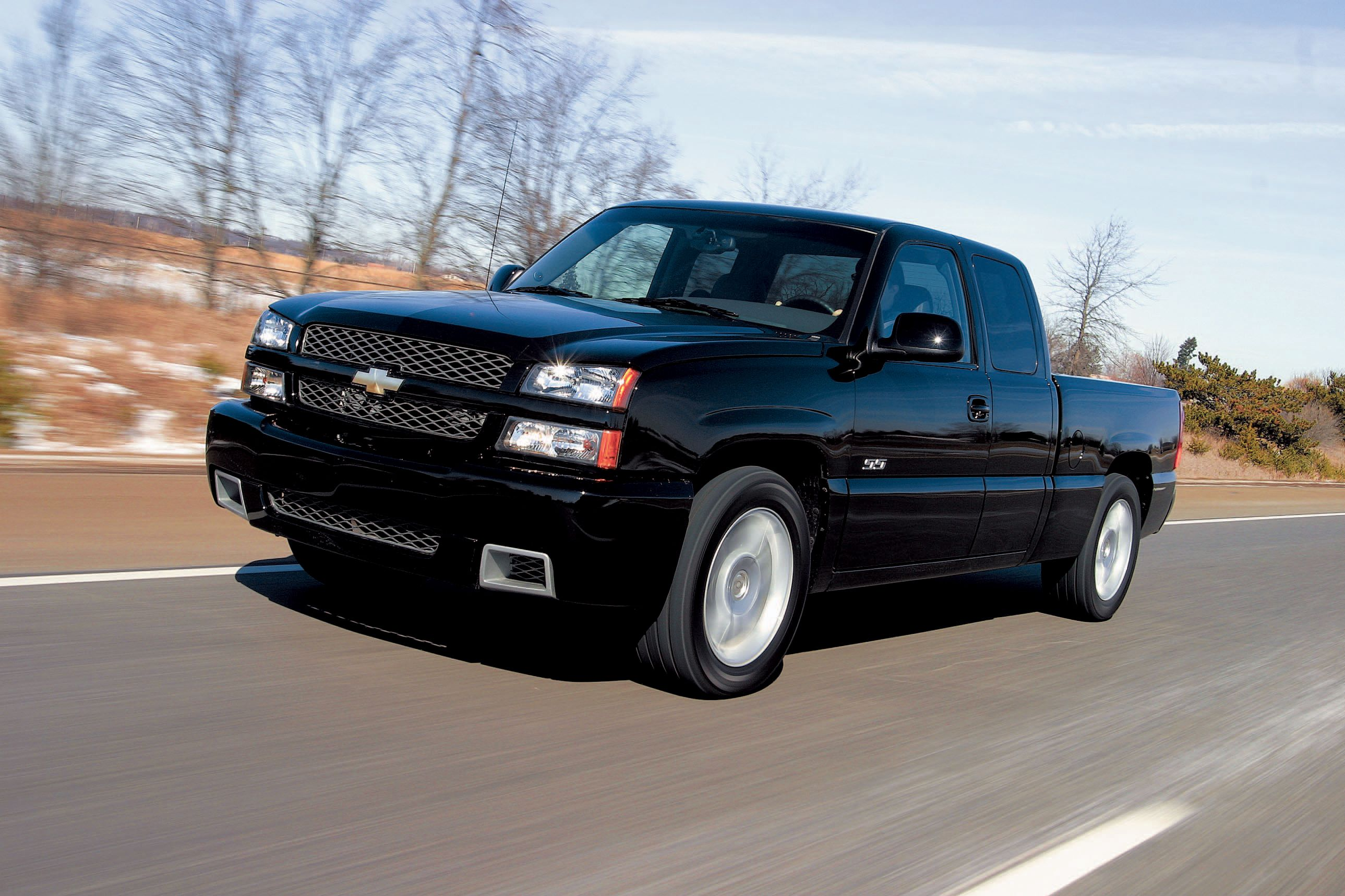Tested 2003 Chevrolet Silverado Ss Refines The Sport Truck