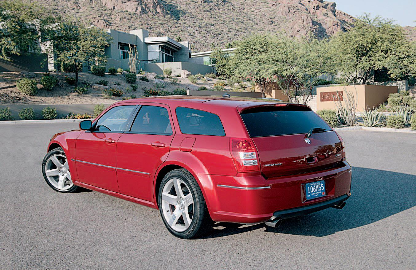 Tested 2006 Dodge Magnum Srt8