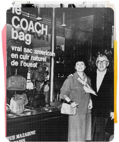 coach創辦人夫妻的黑白照片
