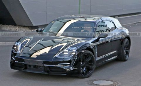 2020 Porsche Taycan Sport Turismo Spy Photo