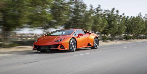 View Photos of the 2020 Lamborghini Huracán Evo