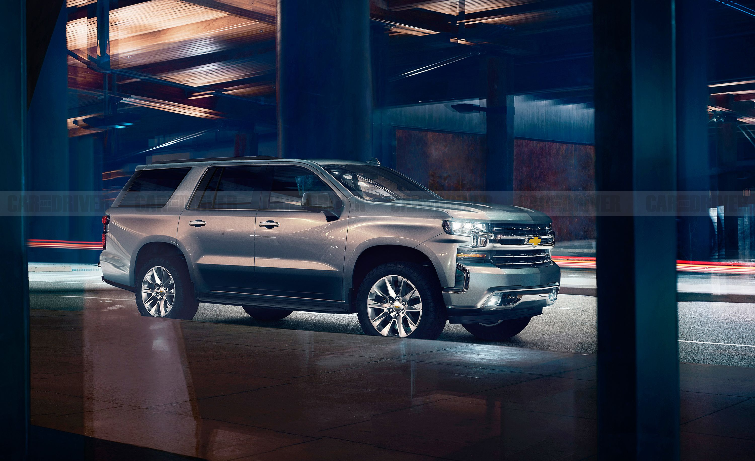 The 2021 Chevrolet Tahoe Is A Big Suv That Will Pack Big