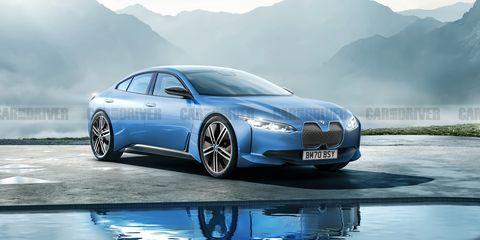2022 BMW i4 render